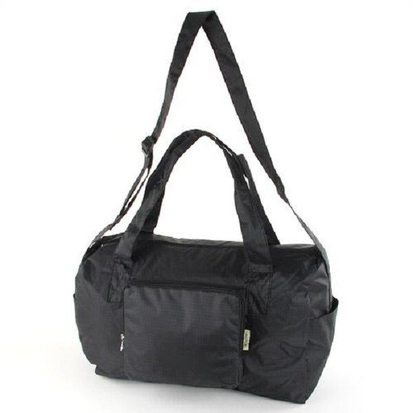 【預購】摺疊收納旅行袋- 黑色 - 限時優惠好康折扣