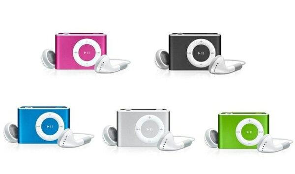 精裝版(送耳機/USB充電線)**特賣3C**蘋果音樂小夾子 插卡式MP3播放/隨身碟(加購TF卡2G/4G/8G ip