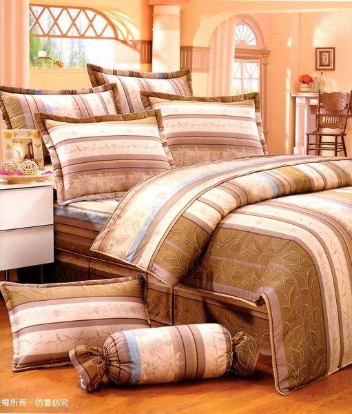 ~MIT寢具~森林可可 ‧100^%純棉精梳棉 單人床包 雙人床包 夏罩 床罩 厚包^(
