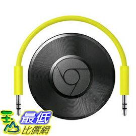 [美國直購] Google Chromecast Audio Black 喇叭 音樂 (2015年版)