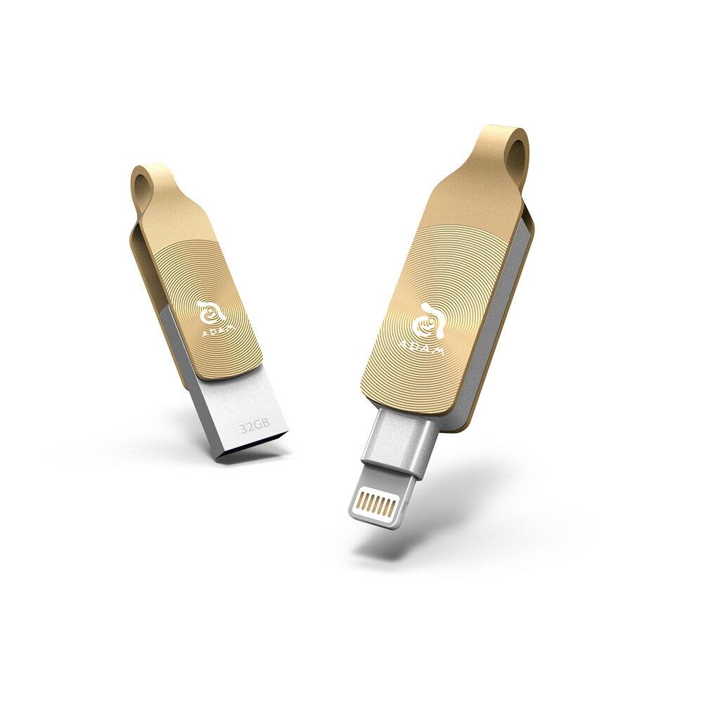 [預購] iKlips DUO + Apple 專用雙向USB 3.1 極速多媒體行動碟 64GB 2