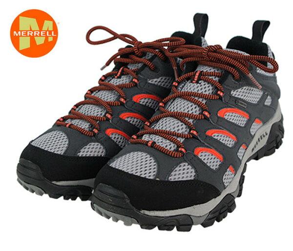 ├登山樂┤ 美國 Merrell  MOAB GORE-TEX  男-多功能登山健行鞋 深灰#ML24439