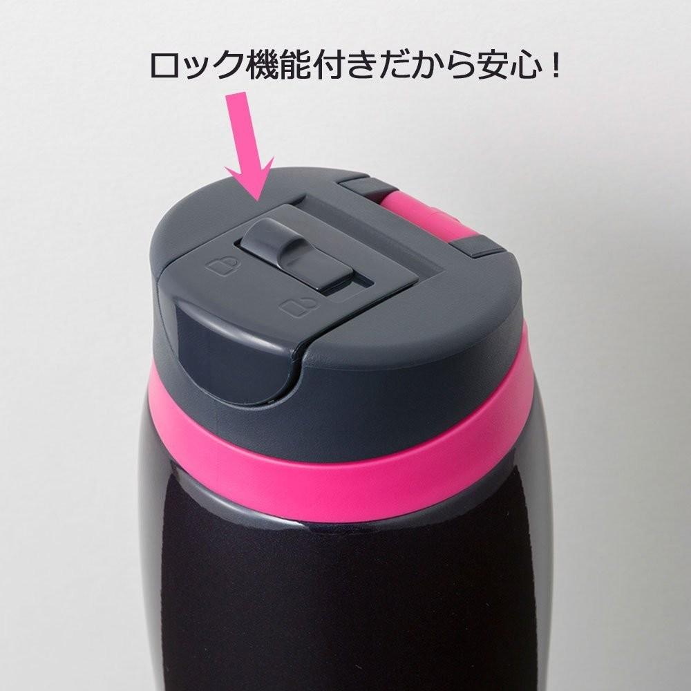 【日本直輸入-預購】TIGER虎牌保溫杯-彈蓋式480CC 不鏽鋼真空~ 日本限定款 - 黑色 2