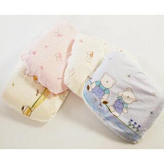 【美國 L.A. Baby】天然乳膠塑型枕(藍色/粉色/黃色)