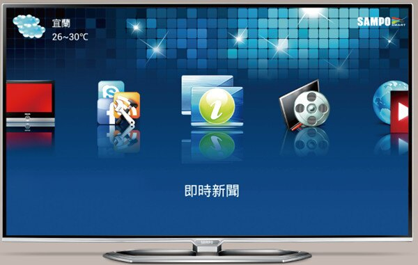 SAMPO 聲寶 50吋3D Smart LED液晶顯示器(EM-50NT15D)