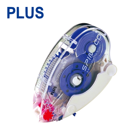 PLUS TG-610 加長型捲軸雙面膠帶 ( 8.4mm x 20M )