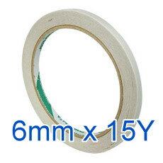 北極熊 DST0615W 雙面膠帶 ( 6mm x 15Y )