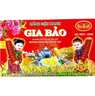 綠豆糕GIA BAO-RONG VANG(240g) ★優惠↘5折