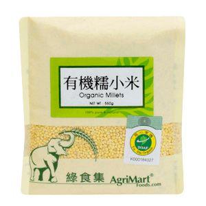 綠食集 有機糯小米500g 產地中國