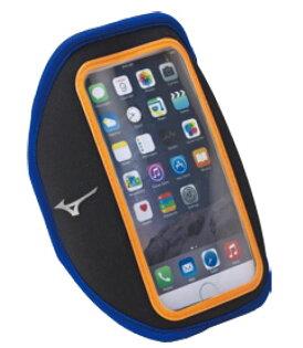 [陽光樂活] MIZUNO 美津濃  運動 跑步 輕量防水 可觸控 手機臂套 手臂包 D3TY601009 黑