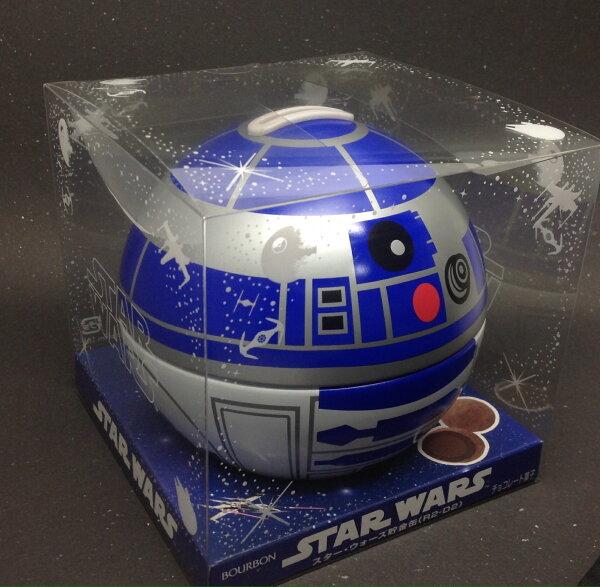 【橘町五丁目】 即期出清! STAR WARS (星際大戰)儲金罐巧克力-R2D2、黑武士