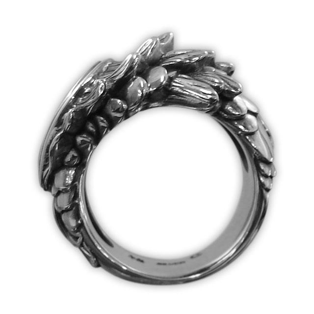 【現貨商品】【Bloody Mary】黃金魚純銀戒指 (BMR0435) 3