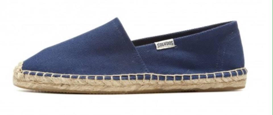 【Soludos】美國經典草編鞋-基本款草編鞋-深藍 2