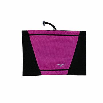 32TY6G1967(黑X紫紅)防風保暖發熱材質 半截式頭套 【美津濃MIZUNO】