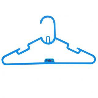 『121婦嬰用品館』PUKU 彩虹糖衣架6入 - 藍 0
