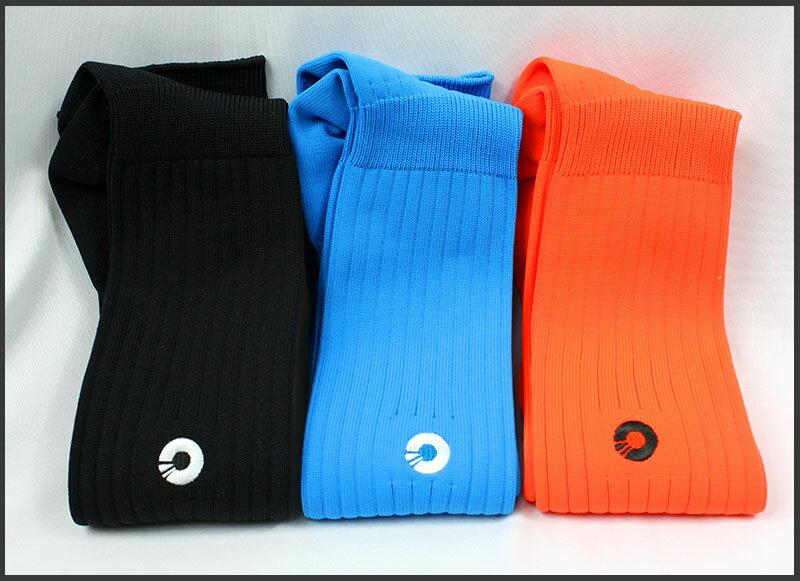 Comsport *彈性足球組合襪*-三色(藍橘黑) 0