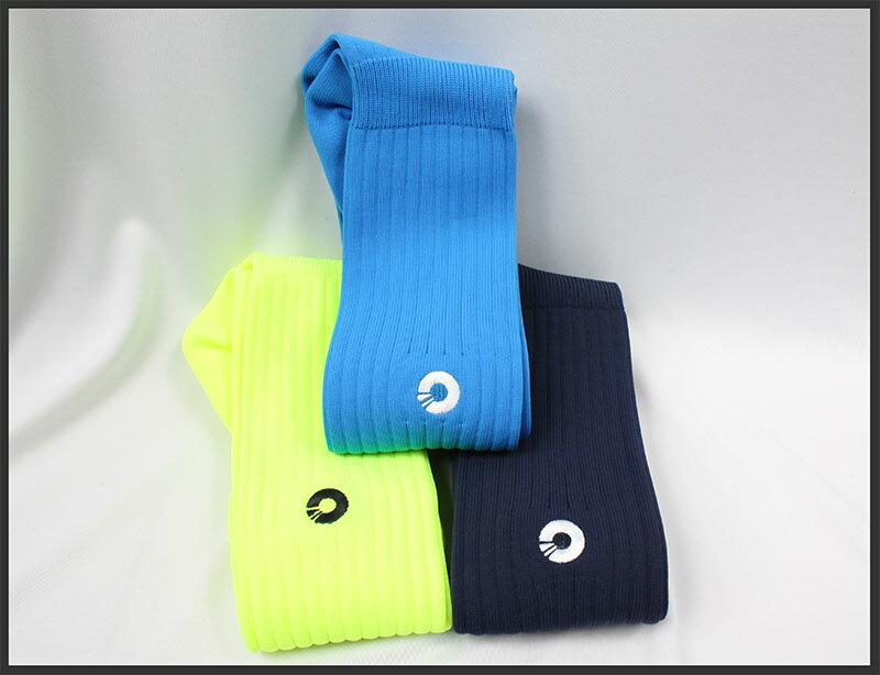 Comsport *彈性足球組合襪*-三色(黃藍丈青) 0