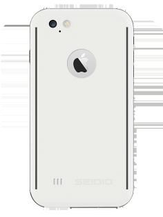 """SEIDIO OBEX® 防水殼 for Apple iPhone 6 Plus/6S Plus 5.5"""" - 白"""