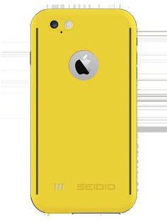 """SEIDIO OBEX® 防水殼 for Apple iPhone 6 Plus/6S Plus 5.5"""" - 黃"""
