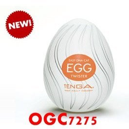【OGC情趣用品】TENGA。EGG THUNDER【龍捲風型】