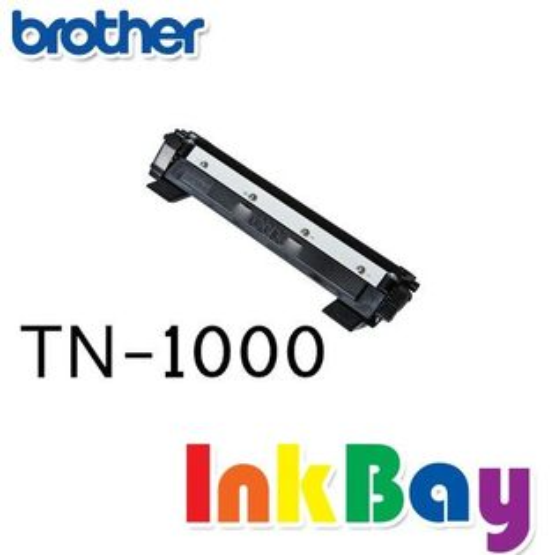 BROTHER HL-1110黑白雷射印表機,適用 BROTHER TN-1000 / TN1000 相容黑色碳粉匣