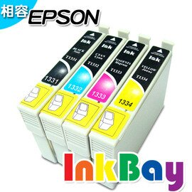EPSON T1931(黑)/T1932(藍)/T1933(紅)/T1934(黃) (no.193)相容墨水匣(一黑三彩) /適用機型:EPSON WF-2521/WF-2531/WF-2541/WF-2631/WF-2651