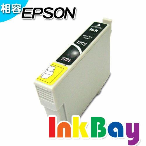 EPSON T1771 相容墨水匣(黑色) /適用機型:EPSON XP-30/XP-102/XP-202/XP-302/XP-402/XP-225/XP-422