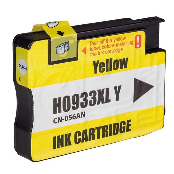 HP 933XL CN056AA (黃色) 相容墨水匣 /適用機型:HP OFFICEJET 6100/6600/6700/7610