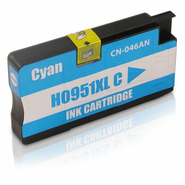 HP CN046AA No.951XL(藍色)相容高容量墨水匣 /適用機型:HP OFFICEJET 8100/8600