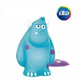 Philips飛利浦71705迪士尼魔法燈- LED可攜式床邊燈- 毛怪