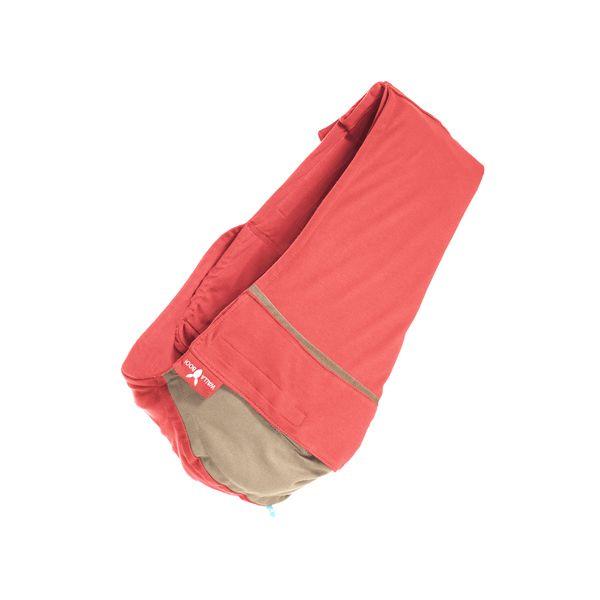 【安琪兒】荷蘭【wallaboo】酷媽袋鼠背巾 - 雙色系(紅/駝) 0