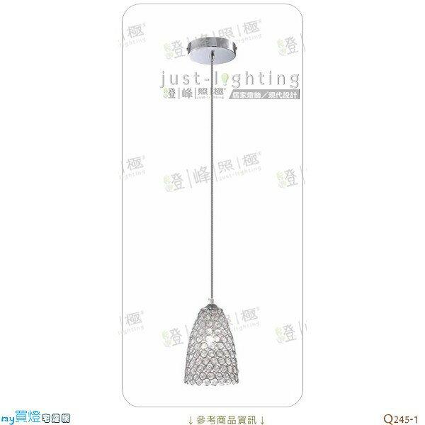 ~吊燈~E14 單燈~ 特級水晶 直徑19cm~~燈峰照極my買燈~^#Q245~1
