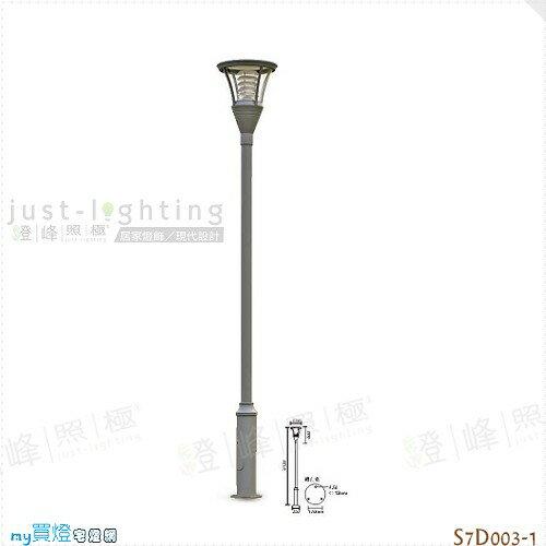 【戶外高燈】E27 單燈。壓鑄鋁 鋼桿 直徑312cm※【燈峰照極my買燈】#S7D003-1
