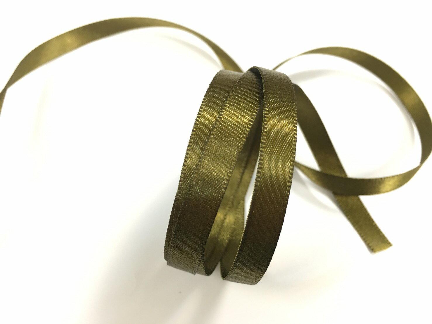 雙面緞面緞帶 6mm 3碼 (20色) 1