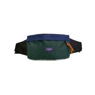 REMATCH - Matchwood Handy 腰包 綠藍色款 斜背包 側背包 隨身包 胸前包 單車運動 / 旅遊休閒隨身 / HEADPORTER / Herschel / Supreme 可參考