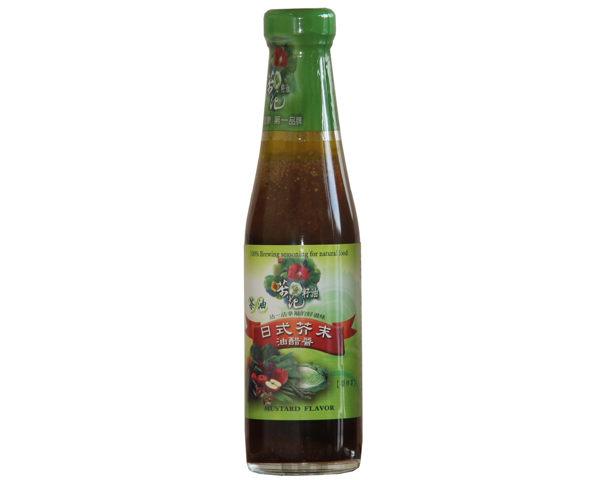 金椿 茶油日式芥末油醋醬 265g//瓶 原價$180 特價$171