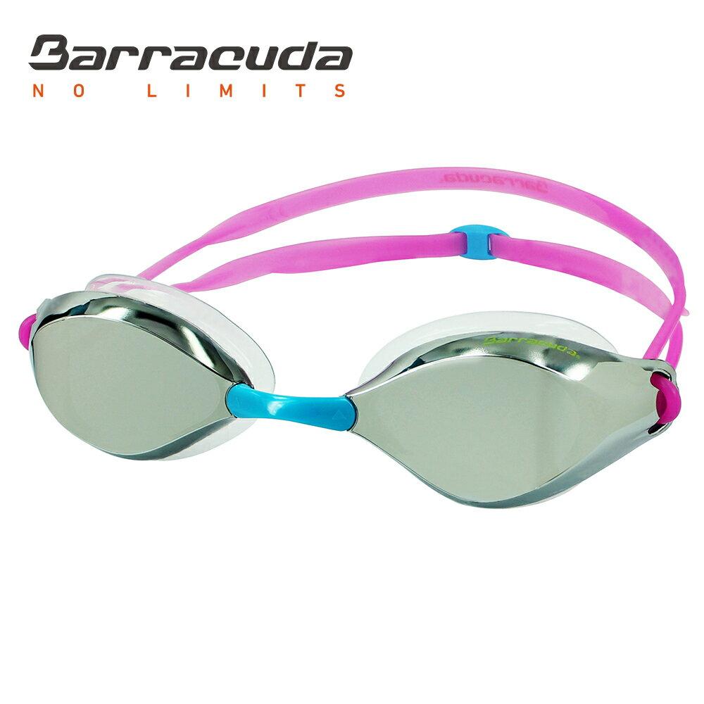 美國巴洛酷達Barracuda成人廣角抗UV防霧電鍍泳鏡 LIQUID WAVE#91410 2