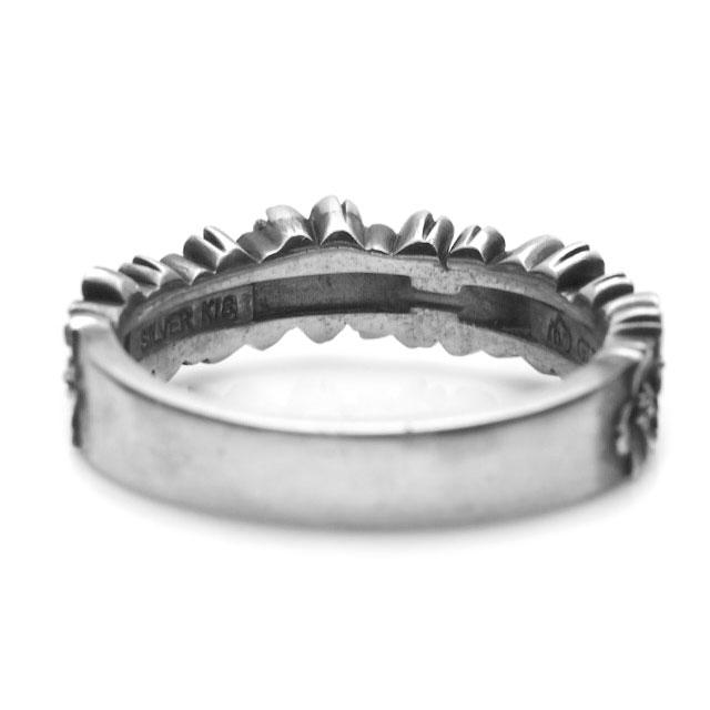 【海外訂購】【GLENN】櫻花環純銀戒指(GL-0080) 2