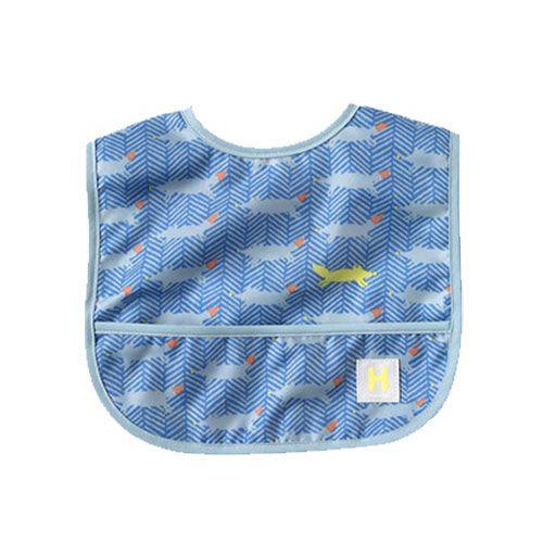Hoppetta - 元氣小狐狸餐圍兜 (藍) 4