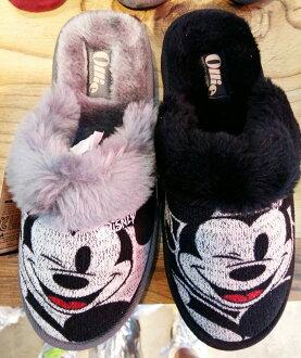 韓國【Ollie 大頭米奇超溫暖室內鞋 / 親子鞋】