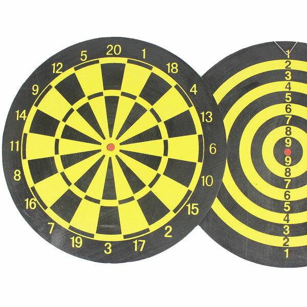 15吋飛鏢盤 直徑38cm 雙面針式飛鏢靶 飛標盤(附針標4支)/一件38個入{促100}P-316家用遊戲飛鏢靶~群