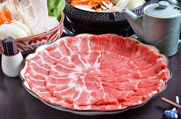 【大和水產】西班牙 伊比利亞 梅花豬 火鍋 肉片 250g 約20片 一盒裝 豬肉界勞斯萊斯