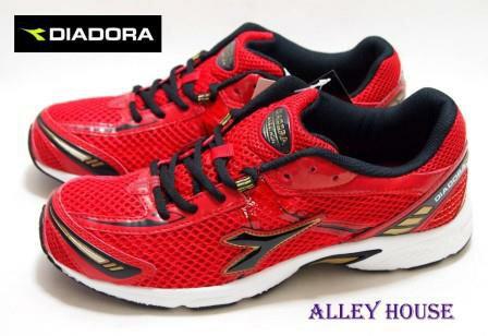 【巷子屋】義大利國寶鞋-DIADORA迪亞多納 男款四大機能超輕量透氣運動慢跑鞋 [7752] 紅 超值價$590
