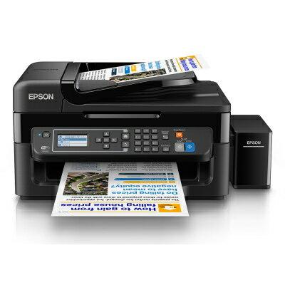 EPSON L565 網路Wifi傳真七合一原廠A4彩色連續供墨印表機