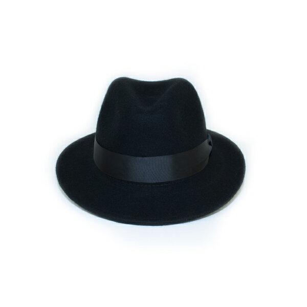MONEY HAT 2016秋冬款 羊毛紳士帽 黑色