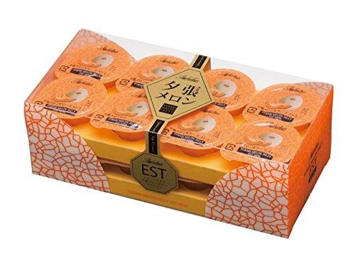 [日本人氣伴手禮]日本北海道產夕張哈密瓜果汁果凍16入