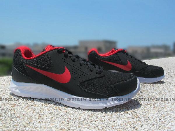 Shoestw【719908-016】NIKE CPT TRAINER2 訓練鞋 黑紅 慢跑鞋 男生