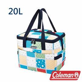 Coleman 保冷袋20L 薄荷藍 CM-27231 露營│登山│行動冰箱│保冰袋│野餐│便當袋