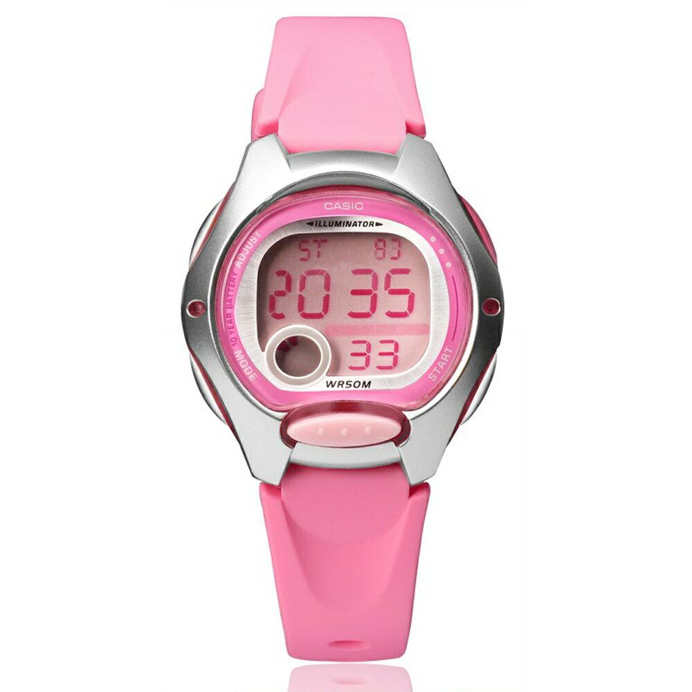 CASIO 卡西歐 LW-200 小巧時尚亮色系輕鬆配戴防水電子錶 1