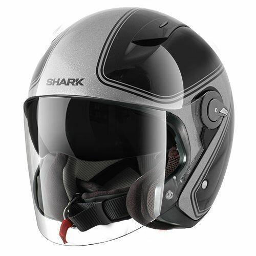 ◉兩輪車舖◉-SHARK-雙層 內鏡片 3/4安全帽-SHARK RSJ 3 SASSY